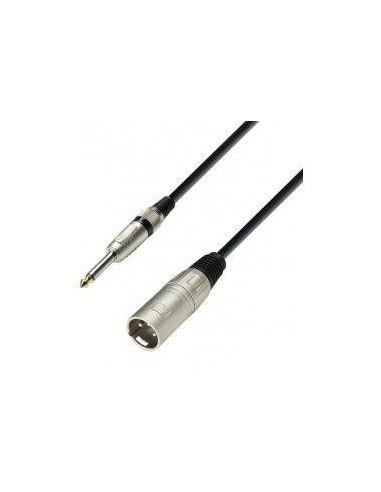kabel XLR M-Jack 6,3 2 1m