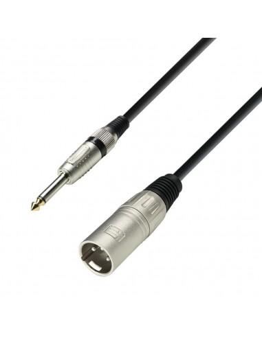 kabel XLR M-Jack 6,3 2 6m