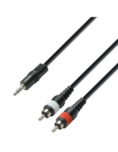 Kabel Jack 3,5-2x cinch 3m