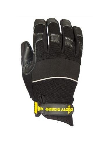 Rukavice Leather Grip