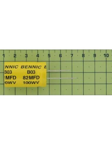 Kondenzátor el. bip. rad. 82M 100V