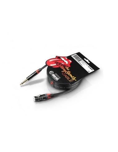Kabel XLR F-Jack 6,3 2 5m RS