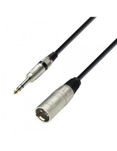 kabel XLR M-Jack 6,3 3 1m