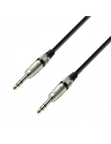 Kabel 2x Jack 6,3 3 0,6m