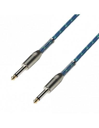 Kabel 2x Jack 6,3 2 6m retro